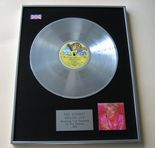 ROD STEWART - GREATEST HITS PLATINUM LP Presenation Disc